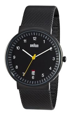 Braun has re-issued its line of classic watches designed by Dieter Rams and Dietrich Lubs from the 1970s. The collection has been approved by Dietrich Lubs, and only slight modifications have been made in the reissues.