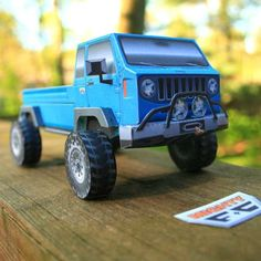 Papercruiser Foldable Model Vehicles: Build Your Own Fleet Of Awesome Trucks Paper Car, Shooting Gear, Nsx, Ford Bronco, Paper Models, Building Toys, Build Your Own, Land Cruiser, Cars For Sale