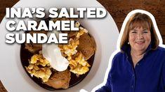 Ina Garten's Salted Caramel Sundae   Barefoot Contessa   Food Network - YouTube Salted Caramel Popcorn, Salted Caramel Ice Cream, Sundae Recipes, Dessert Recipes, Dessert Ideas, Yummy Recipes, Barefoot Contessa, Ice Cream Desserts, Ice Cream Recipes