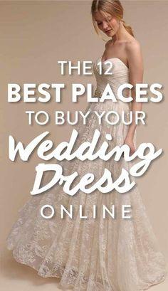 Best Online Wedding Dresses, Budget Wedding Dress, Inexpensive Wedding Dresses, Classic Wedding Dress, Wedding Dress Shopping, Cheap Wedding Dress, Wedding Planning, Dress Sites, Long Sleeve Wedding