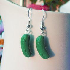 Pickle Earrings!