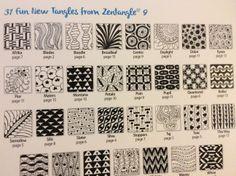 new zentangles