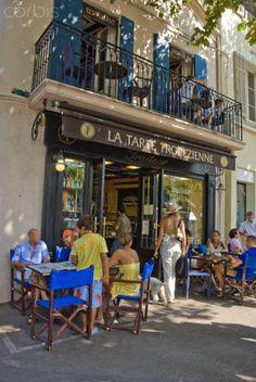 ~La Tarte Tropezienne - Saint Tropez~ Definitely on my bucket list.... i could eat here all week long.