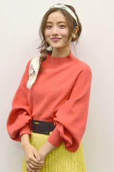 Pin by しおみ on 女優さん in 2020 Trendy Outfits, Fashion Outfits, Womens Fashion, Satomi Ishihara, Asian Cosplay, Actor Model, Japanese Girl, Bell Sleeve Top, Beautiful Women
