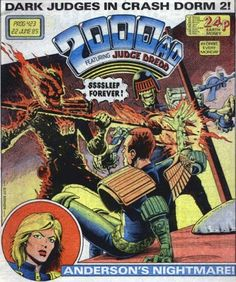 Cover for 2000 AD (IPC, 1977 series) #423