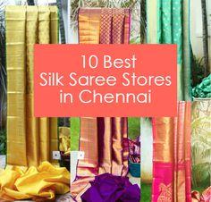 10 Best Kanjeevaram Silk Saree Stores in Chennai
