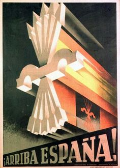 The Spanish Civil War was an extremely complex conflict that ravaged the country from 1936 to 1939 and devastated Spain and its inhabitant. Chinese Propaganda Posters, Propaganda Art, Political Posters, Indira Ghandi, Spanish War, National Park Posters, Party Poster, Drawing S, Vintage Posters