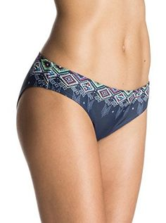 Roxy Womens 70s Bikini Bottom  Encre XSmall * Learn more by visiting the image link.