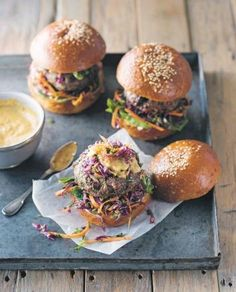 bbq chicken burgers middle eastern chicken burgers recipes dishmaps ...