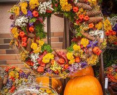 Floral Wreath, Gardening, Wreaths, Fall, Home Decor, Fall Season, Autumn, Floral Crown, Decoration Home