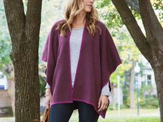 This wool poncho, discovered by The Grommet, is the perfect mix of versatility and style. Made of a soft, lightweight wool blend, it can be worn five different ways.  $36