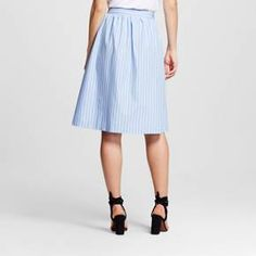 Women's Broadcloth Skirt - Who What Wear ™ : Target
