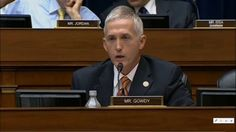 Trey Gowdy Grills Another Ex IRS Official Today