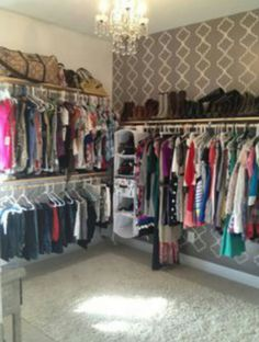 35 spare bedrooms that turned into dream closets | Famous interior ...