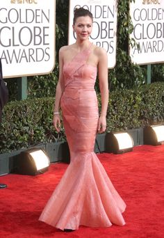 Maggie Gyllenhaal at the 67th Annual Golden Globe Awards