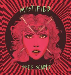 """NEW! Vinyl 7"""" She's Scared by Mystified – Conceptual-Art"""