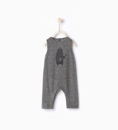 Image 1 of Bear romper suit from Zara