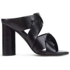 Senso Mules & Clogs ($225) ❤ liked on Polyvore featuring shoes, clogs, black, black mule shoes, black shoes, mules clogs, rubber sole shoes and mules clogs shoes