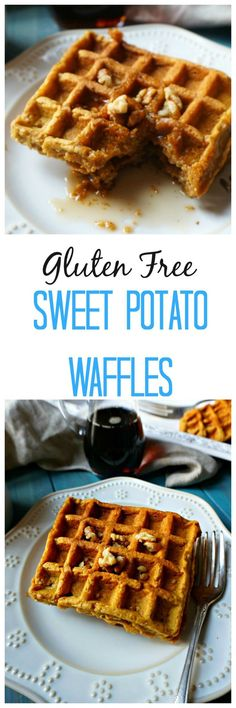 Gluten Free Sweet Potato Waffles: Rich, warming spices, and sweet ...