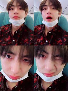 V ❤️ [BTS Trans Video Tweet] 다녀올게요 / We'll be back #BTS #방탄소년단