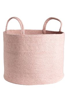 Control clutter with our eye-catching storage solutions. Take your pick from chunky woven jute, rustic wood and delicate wire or tactile linen and canvas. Room Decor Bedroom Rose Gold, Rose Gold Rooms, Room Ideas Bedroom, Toddler And Baby Room, Room Baby, Basket Lighting, Cute Room Decor, Aesthetic Room Decor, Storage Baskets