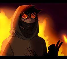 Ticci Toby Best Creepypasta, Creepypasta Characters, Anime Characters, Creepy Art, Scary, Creepypastas Ticci Toby, Toby Is A, Light Vs Dark, Desenhos Gravity Falls
