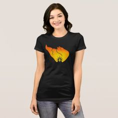 The Fire of Liberty T-Shirt - independence day 4th of july holiday usa patriot fourth of july