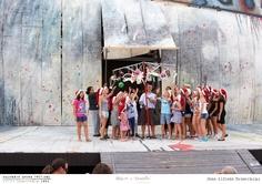 PROVE // LA BOHÈME // 2012 // Foto Alfredo Tabocchini. L'opera di Giacomo Puccini allo Sferisterio di Macerata per la regia di Leo Muscato. #allieviemaestri #boheme #altrochelopera www.sferisterio.it