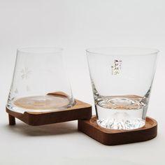 Tajima Glass Mt. Fuji Premium Beer Glass, can buy direct from Japan.