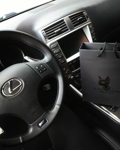 and bag :) customized emblems with from Lexus Isf, Beast, Swarovski, Crystals, Luxury, Solothurn, Crystal, Crystals Minerals