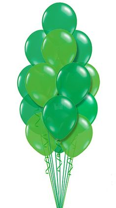 St Patrick's Day Balloon Bouquet, hand delivered by balloonplanet.com