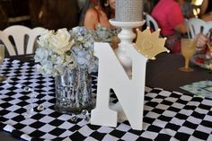 Love this centerpieces arrangement, too... #PampersPinParty Hostess with the Mostess® - A royal Feast Baby Shower