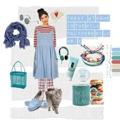 Today, at home in the wild- Polyvere by Lu nr. 2 http://graficscribbles.blogspot.it/2014/01/polyvre-look-moda-set.html