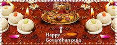 Happy Govardhan Puja Shubh Muhurat Wishes SMS Whatsapp Status FB