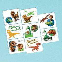 Good Dinosaur Party Supplies, Good Dinosaur Tattoos, Party Favors