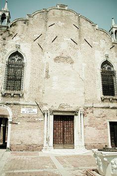 Old church facade, Cannaregio, Venice