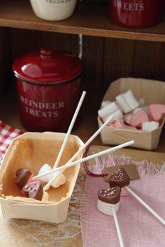 バレンタインに♪ マシュマロとチョコを使った手作りお菓子