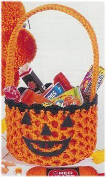 Halloween Basket ~ free pattern
