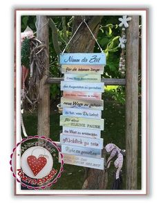 Shield - Take Your Time - Family Rules - Walk Your Way - Deco Sign - Christmas Gift - Best Friend - Mother's Day - Valentine's Day Diy Design, Design Trends, Take Your Time, Family Rules, Decorative Panels, Grandpa Gifts, Wooden Signs, Ladder Decor, Mother's Day