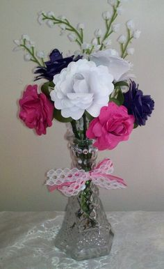 Cricut Flower Shoppe Roses