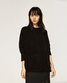 Image 2 of OVERSIZED SWEATER from Zara