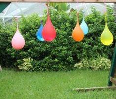 Water pinatas - Games to play outdoors - Netmums