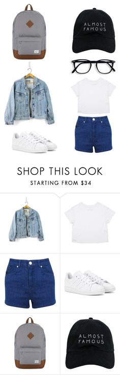 """""""On A Trip"""" by sjkmaia on Polyvore featuring Miss Selfridge, adidas, Herschel Supply Co. and Nasaseasons"""