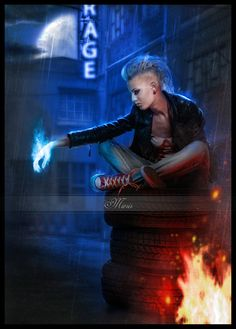 Rage by Miesis Digital Art / Photomanipulation / Fantasy  http://miesis.deviantart.com/art/Rage-372719798