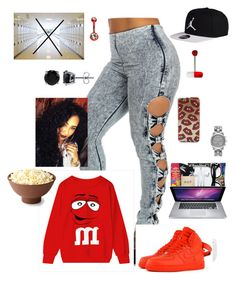 """""""i had no school for a week i am finna sleep some more!!!❄❄"""" by lovebrezzy ❤ liked on Polyvore featuring beauty, NIKE, Barker, BERRICLE and Michael Kors"""