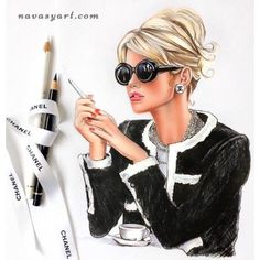 coffee fotography Coffee time with CHANEL Chanel Fashion, Fashion Art, Trendy Fashion, Girl Fashion, Fashion Design, Chanel Chanel, Fashion Prints, Pin Up, Megan Hess