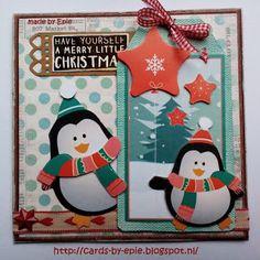 Cards-by-Epie: Week 34 ......Kerst