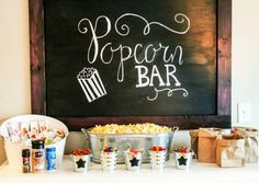 Trendy Party Snacks For Teens Sleepover Popcorn Bar Teen Sleepover, Fun Sleepover Ideas, Sleepover Party, Slumber Parties, Spa Party, Sleep Over Party Ideas, Sleepover Snacks, Cheer Party, Pool Parties