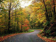 Vermont mountain road