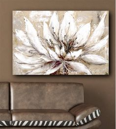 Interior Wall Art :: Canvas Oil Paintings :: Landscape Art :: Oil On Canvas Wall Art - Petals In The Wind -